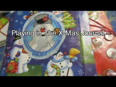 Working in the Christmas JJ. and a little Valentines.  | JOURNAL WITH ME | SUGAR