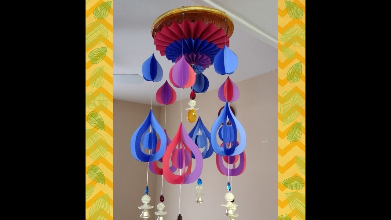 Art and Craft Tutorial: DIY Wind Chime Part 4 of 4. How to make Wind Chime Part 4 of 4;