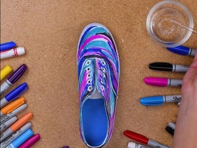 BabyFirstTV   DIY Galaxy Shoes!