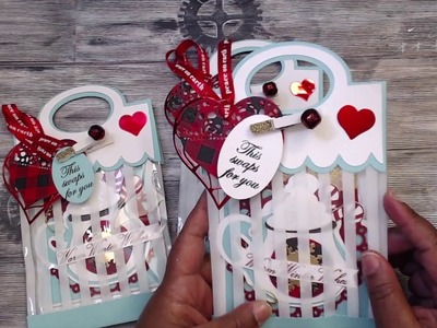 {CHRISTMAS | WINTER} THEMED SHAPED GIFT TAG SWAP {REVEAL} GROUP #6