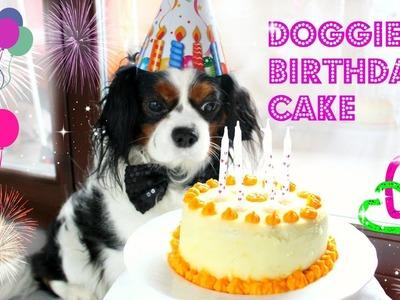 DIY Dog Birthday Cake . Torta di Compleanno per Cani