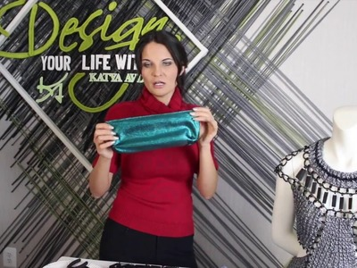 "DIY jewelry and clothes from paper clips.""Design Your Life With Katya Avdeev"" Episode 4"