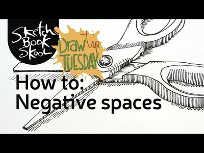 Draw Tip Tuesday - How To: Negative Spaces
