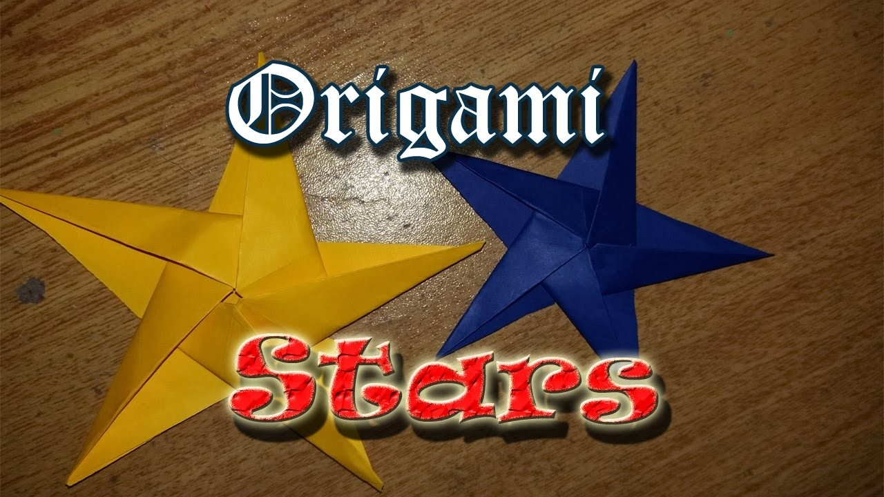 Easy Origami Star For Beginners | How To Make Origami Stars | Easy Craft Ideas