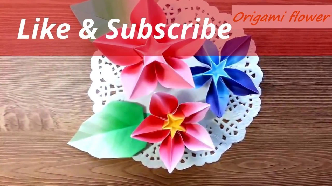 How to make flower with paper rose By विवेक पाण्डेय