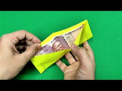 How to make origami paper wallet | Origami. Paper Folding Craft Videos & Tutorials.