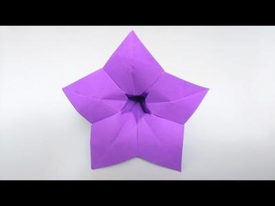 How to make: Origami Violet 5 Petals Flower