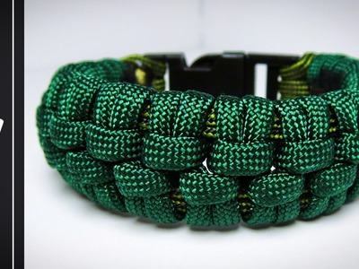 How to make The Crocodile Paracord Bracelet [UWA ORIGINAL]