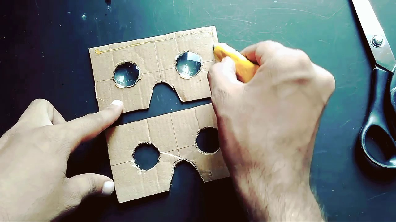 How To Make VR Cardboard In Home