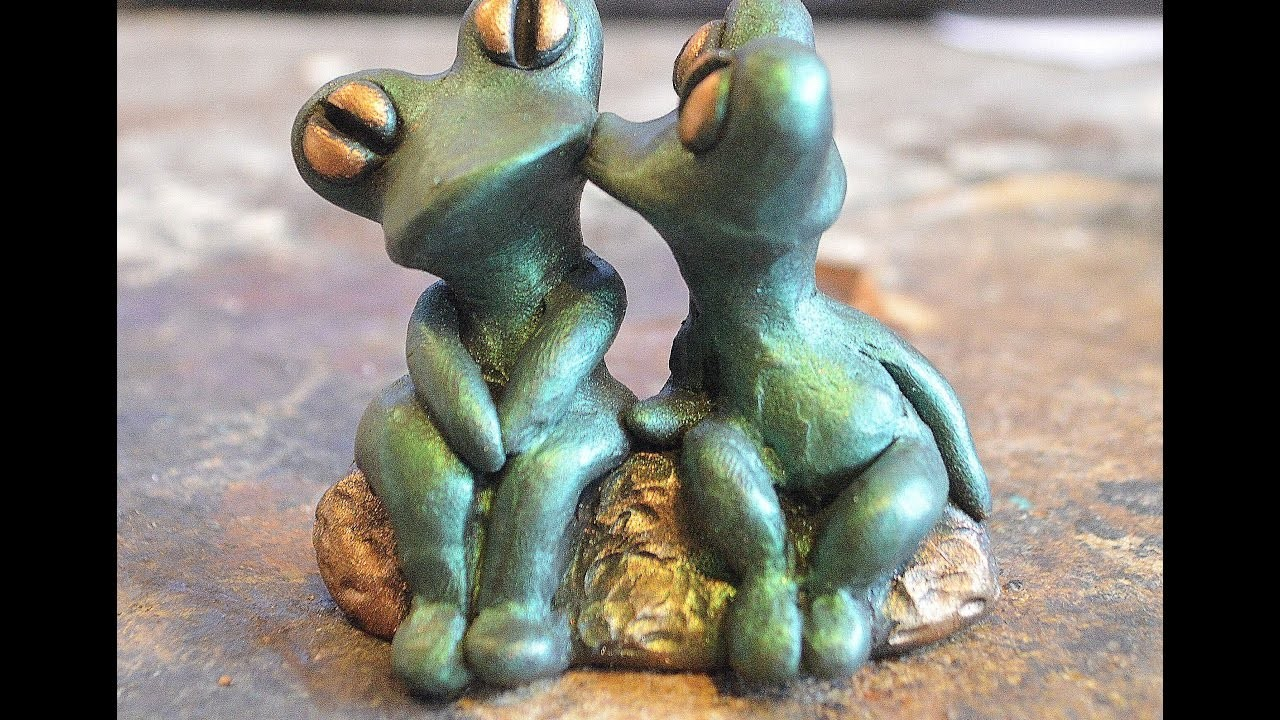 How To Smooth Polymer Clay As Taught By A Sculptor Part One