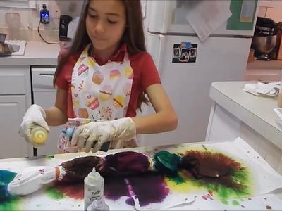 How to Tie Dye A T-Shirt   MariahsReborns1