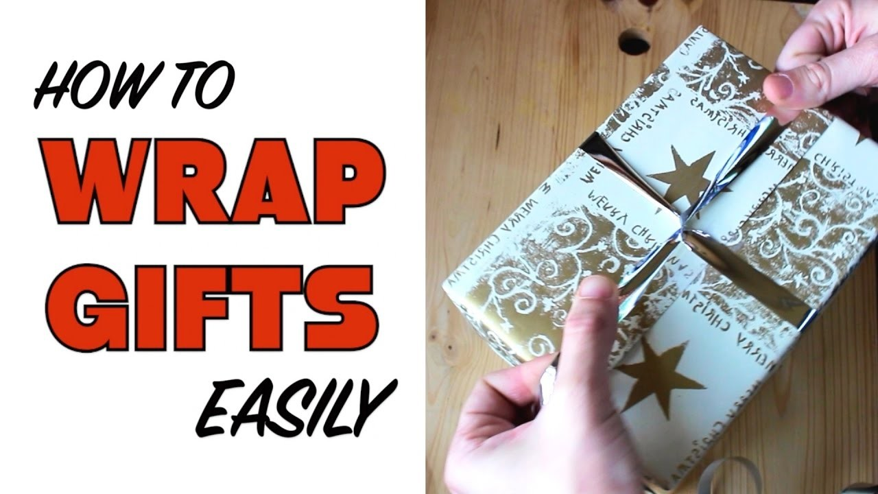 HOW TO WRAP A PERFECT GIFT | Easy Step by Step Tutorial | Cheap Tip #247