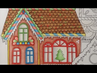 JOHANNA'S CHRISTMAS - prismacolor pencils - color tutorial part 2
