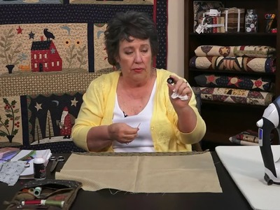 Over the Meadow - Lesson 1 - Intro to Freezer Paper and Needle Turn Applique