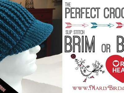 Perfect Crochet Slip Stitch Brim