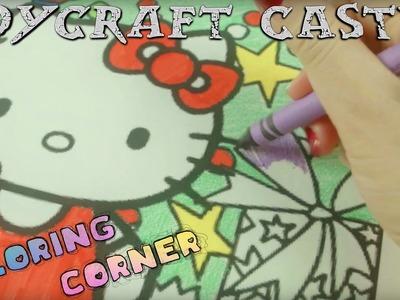 TC - COLORING CORNER - Hello Kitty Christmas Coloring Xmas Tree