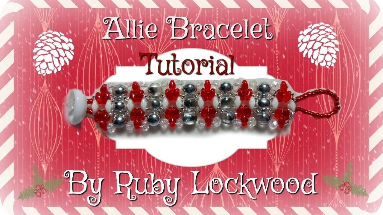 (Tutorial) Allie Bracelet (Video 187)