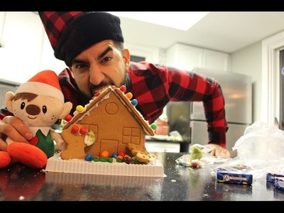 (WORLD'S FIRST!!) DIY Gingerbread Trap House