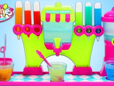 Yummy Nummies SODA SHOP MAKER Mini Magic Kitchen Playset NEW Color DIY Soda Candy!
