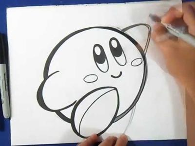 Cómo dibujar a Kirby
