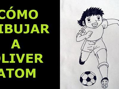 Como dibujar a Oliver Atom - How to draw Oliver Atom