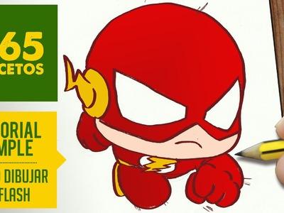 COMO DIBUJAR FLASH KAWAII PASO A PASO - Kawaii facil - How to draw Flash