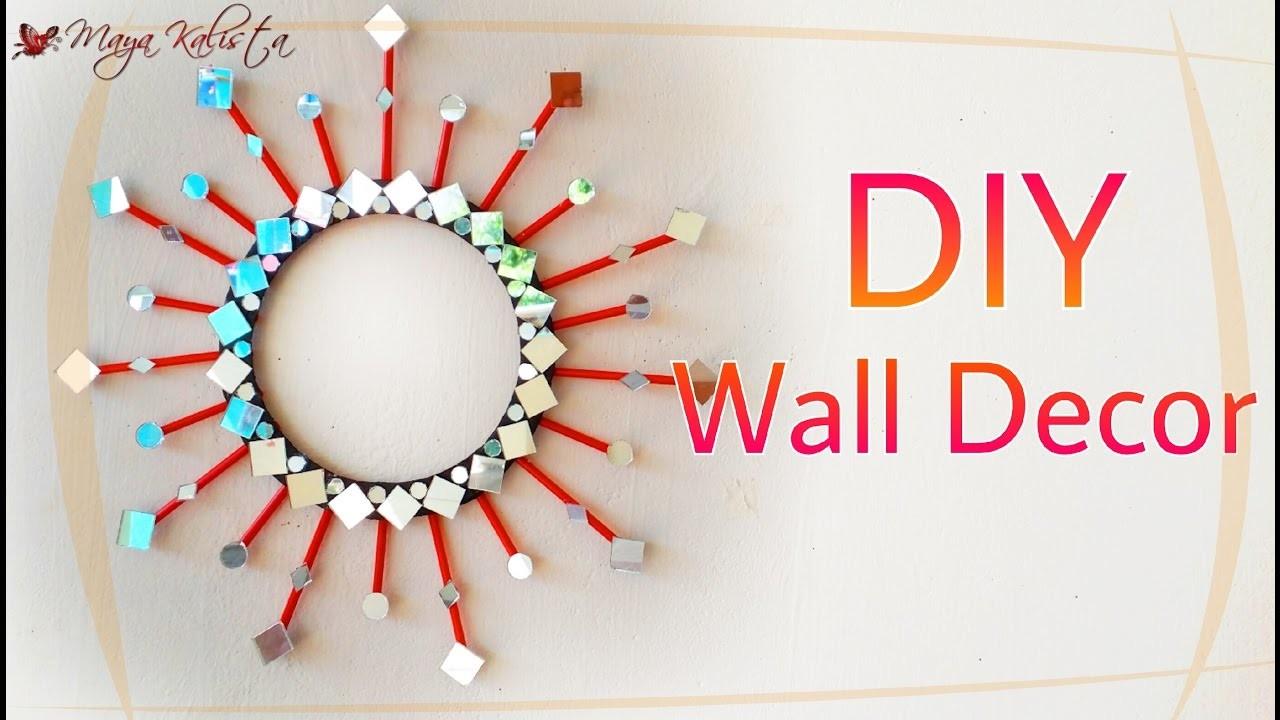 Diy Mirror Wall Decor Diy Decoration Ideas For Teenagers