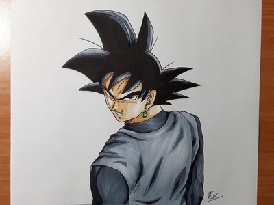 Drawing Goku Black - Dragon Ball Super