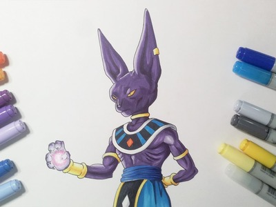 Drawing Lord Beerus.Bills - God of Destruction | Dragon Ball Super
