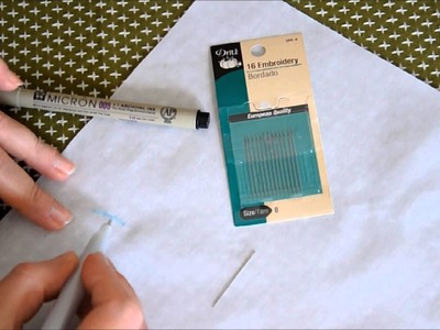 Getting Started with Hand Embroidery: Hints & Suggested Supplies
