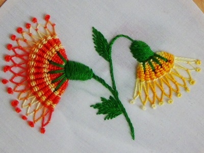 Hand embroidery designs for bed sheets | hand embroidery tutorial for beginners