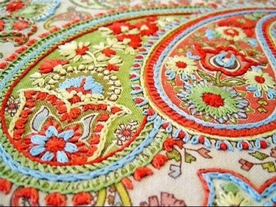 Hand embroidery designs for dresses | hand embroidery designs for beginners