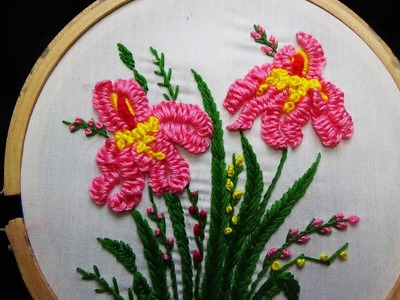 Hand Embroidery: Loose Cast on Stitch