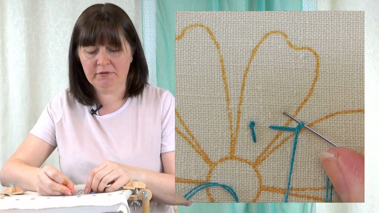Hand Embroidery - Pistil stitch