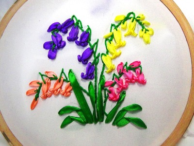 Hand Embroidery: Ribbon Work