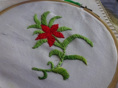 Hand Embroidery: Satin Stitch by Amma Arts