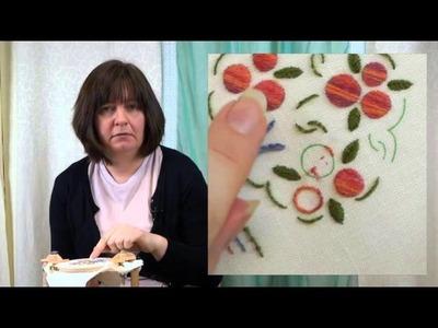 Hand Embroidery - Split stitch tutorial