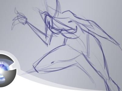 How I Sketch Poses