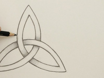 How to Draw a Celtic Knot: The Triquetra, Step by Step