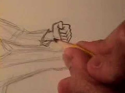 """How to Draw a Manga """"Fight Pose"""" (Pt. 1)"""