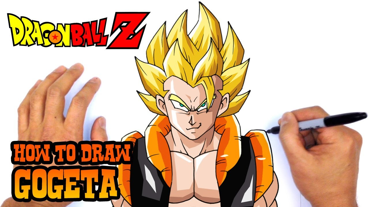 How to Draw Gogeta (Dragon Ball Z)- Art Lesson