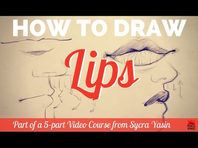 How to Draw Lips - the Difference Between Male and Female Mouths