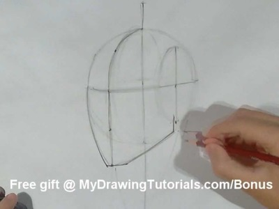 How To Draw The Head From Any Angles - Drawing The Human Head In 3.4 View
