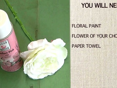 How to Use Floral Paint