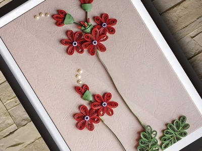 Quilling Art | Room Decor-Wall Hanging Ideas | HandiWorks#86