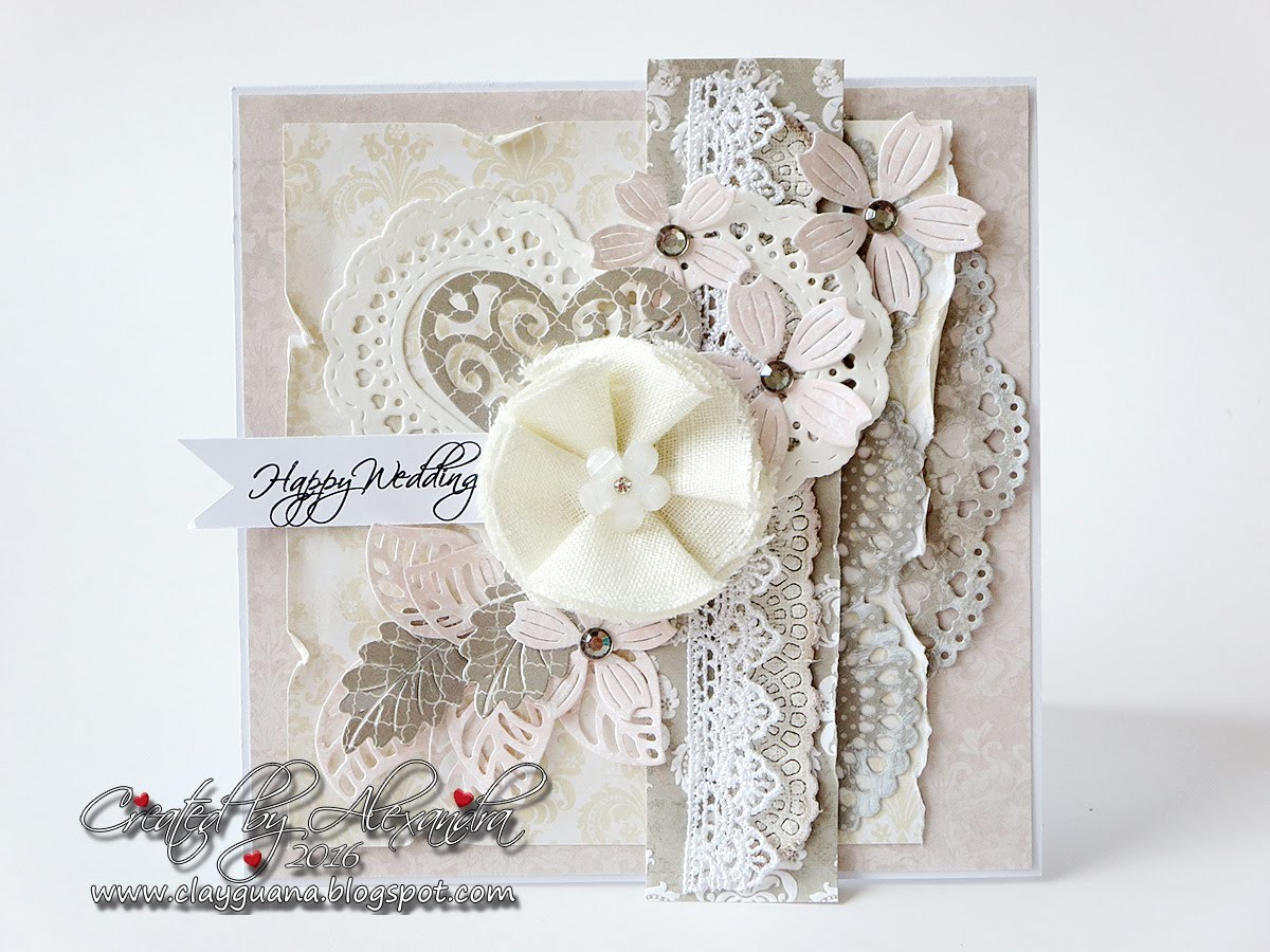 Wedding Card for La La Land Crafts