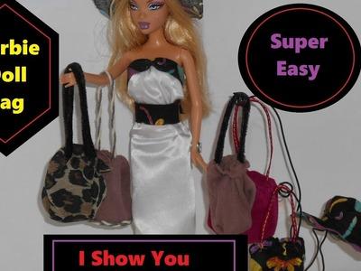 """(""""#Barbie Doll Bag. Super Easy to Make. I Show you How"""");"""
