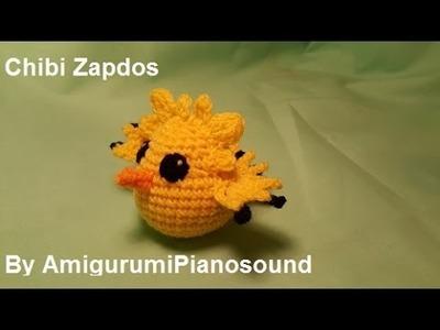 Chibi Zapdos Crochet Tutorial