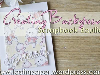 Creating a Prismacolor MFT Bunny Background Panel - Scrapbook Boutique!