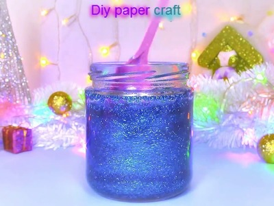 DIY Christmas crafts: Gift idea! CALM JAR - DIY PAPER CRAFT